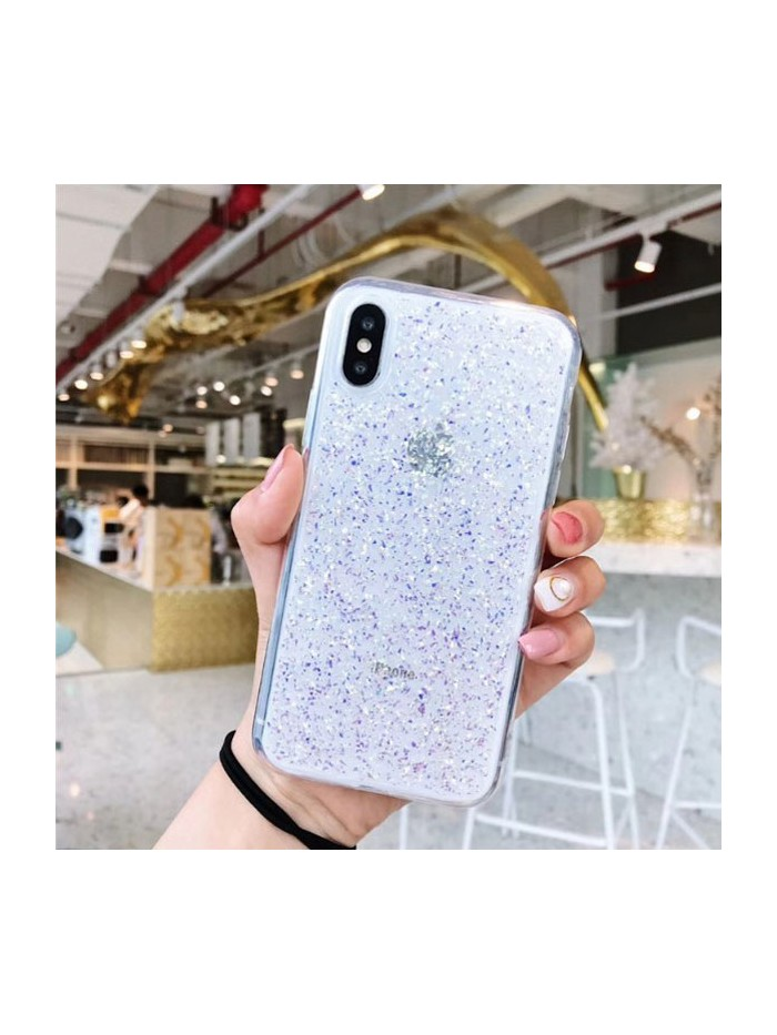 Glitter Powder iPhone Case - Purple