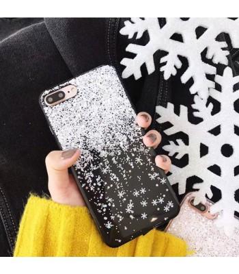 Christmas Glitter Snowflake iPhone Case