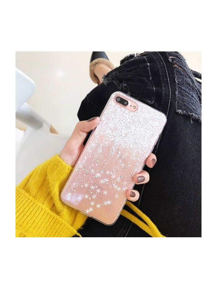 Christmas Glitter Snowflake iPhone Case