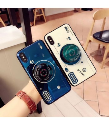 Couple Camera iPhone Case With Finger Grip