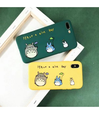 Cute Cartoon My Neighbor Totoro iPhone Case