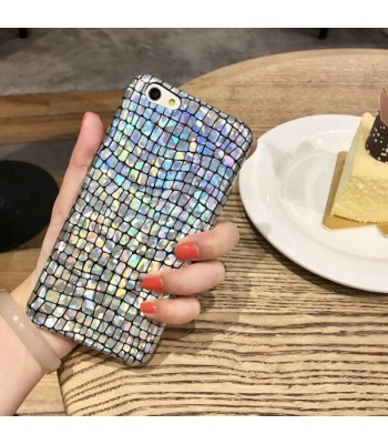 Holographic Crocodile Design iPhone Case