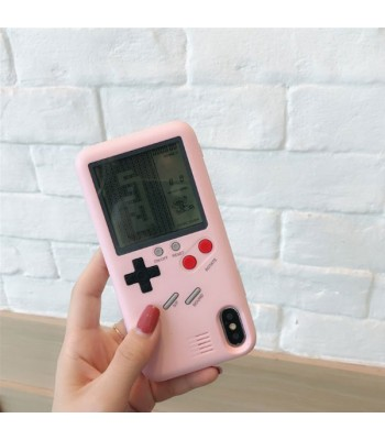 Playable Tetris Gaming iPhone Case
