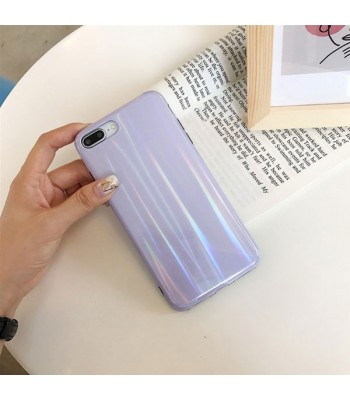 Holographic Pure Color iPhone Case