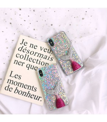 Glitter 3D Mermaid Tail iPhone Case