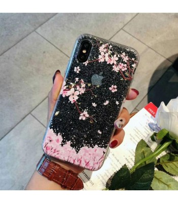 Diamond iPhone Case - The Cherry Blossoms