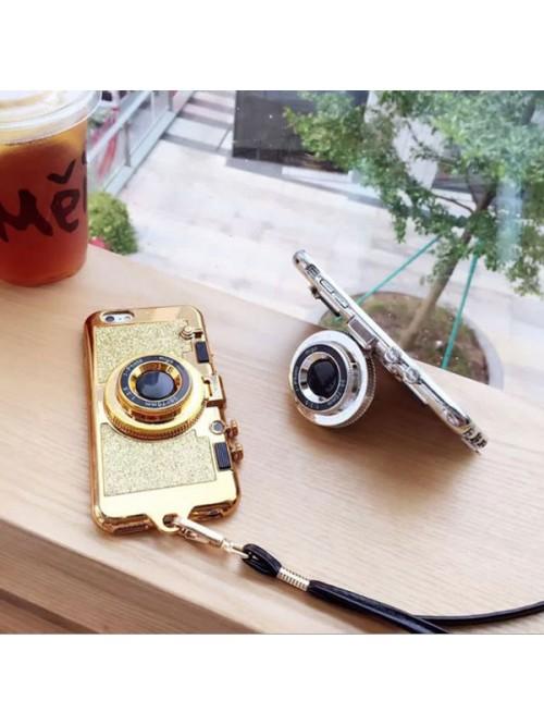 iPhone X Glitter Camera Case With Hidden Mirror