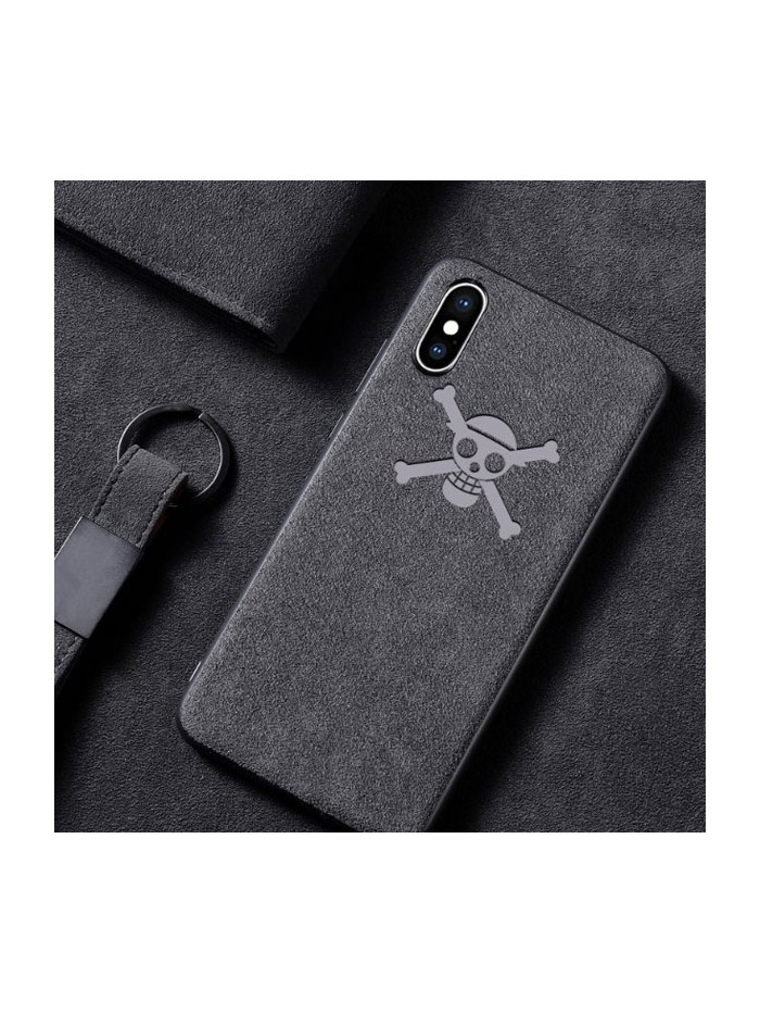 Suede Leather iPhone Case - One Piece