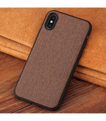 Minimalist Linen iPhone Case - Linen Brown