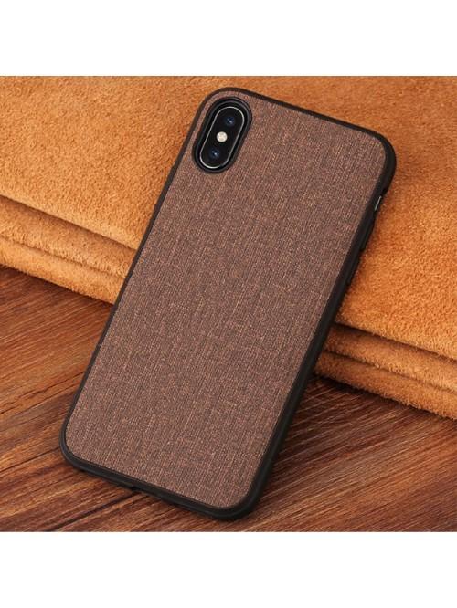 Minimalist Linen iPhone Case - Linen Brown