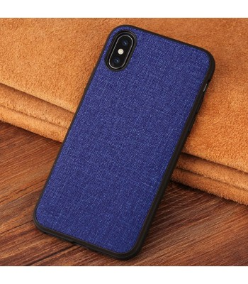Minimalist Linen iPhone Case - Linen Blue