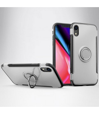 iPhone Xs Magnetic Car Mount Case With Hidden Ring Holder