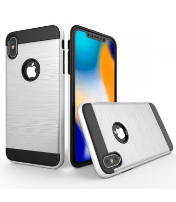 iPhone Xs Rugged Hairline Shockproof Protective Case