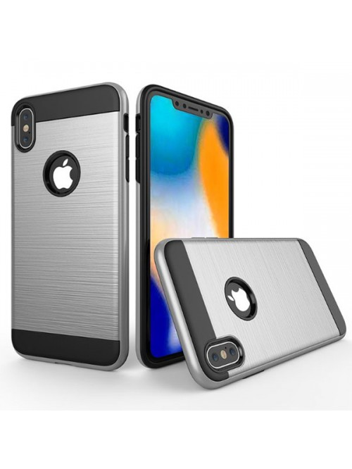 iPhone Xs Max Rugged Hairline Shockproof Protective Case