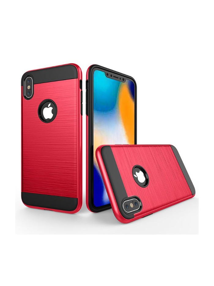 iPhone XR Rugged Hairline Shockproof Protective Case