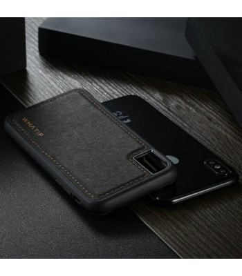 iPhone Xs Max Leather Flip Case With Card Holder