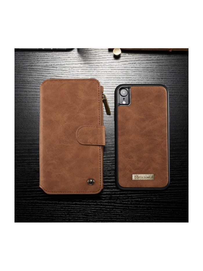 Luxury iPhone Xs Max Leather Wallet Case