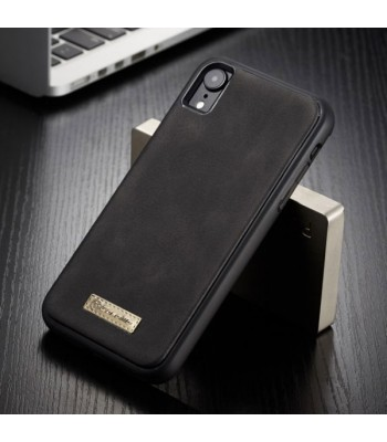 Luxury iPhone XR Leather Wallet Case