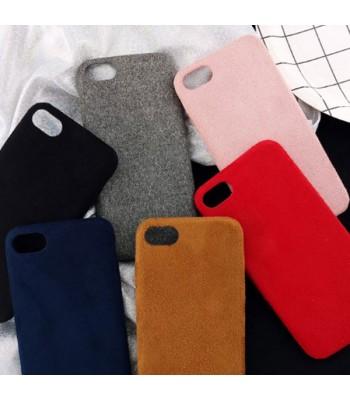 iPhone Xs Fuzzy Fur Phone Case