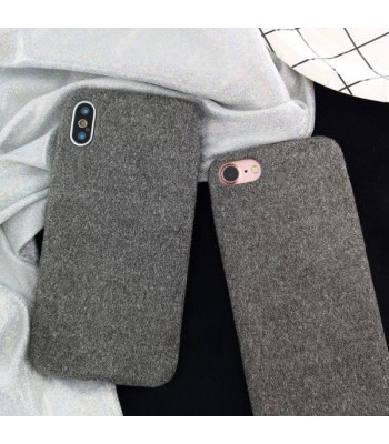 iPhone Xs Fuzzy Fur Phone Case