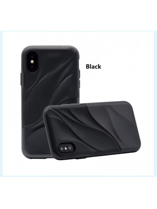 iPhone X Wave Dual Layer Shockproof Protective Case