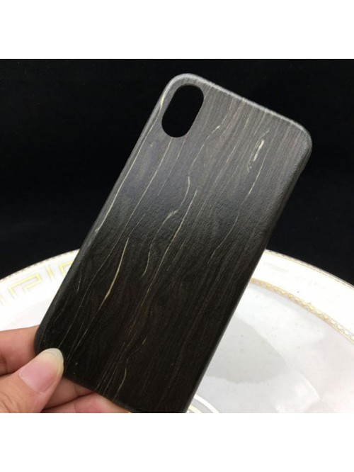iPhone X Real Black Ice Wood Phone Case