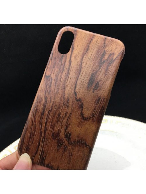 iPhone X Real RoseWood Phone Case