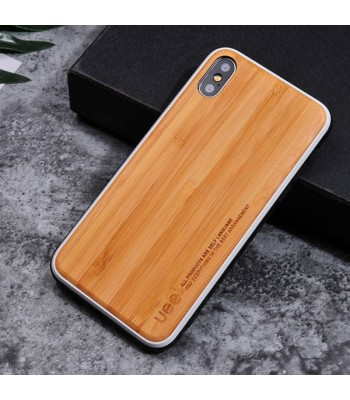 Bamboo Wood iPhone Case For X Series