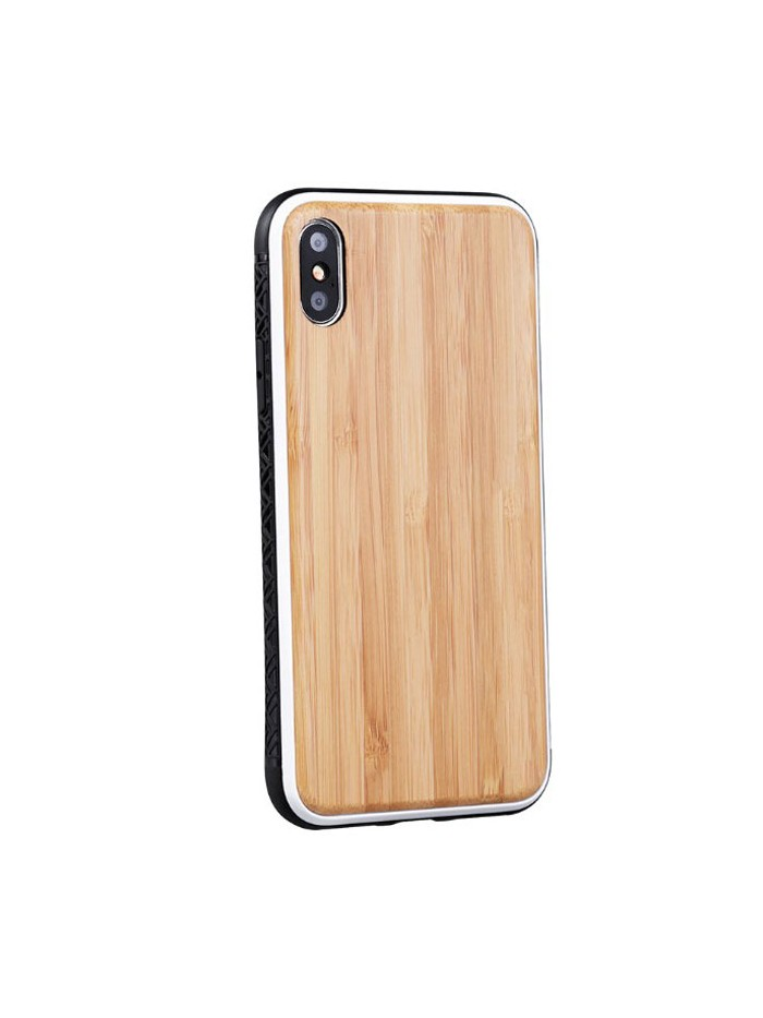 Bamboo Wood iPhone Case For XR