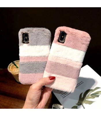 iPhone X Fuzzy Faux Fur iPhone Case