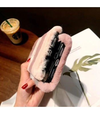 iPhone Xs Max Fuzzy Faux Fur iPhone Case
