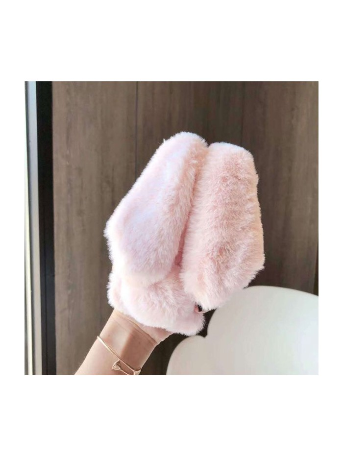 iPhone Xs Max Fluffy Fur Bunny Case