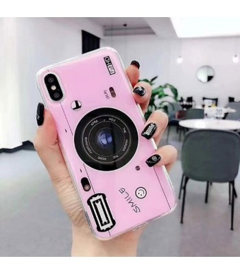 iPhone X Camera Design Case With Finger Grip