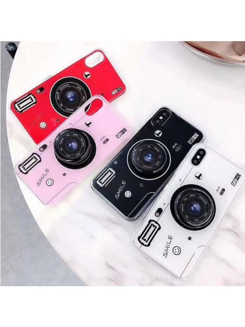 iPhone Xs Camera Design Case With Finger Grip