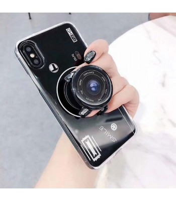 iPhone XR Camera Design Case With Finger Grip