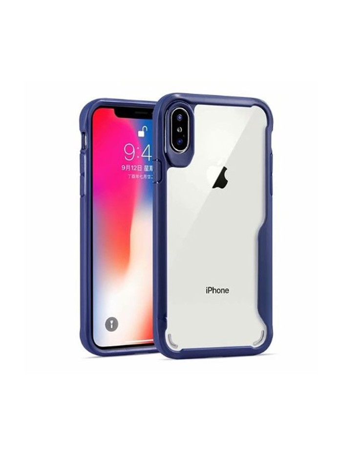 iPhone X Clear Case With Shockproof Bumper