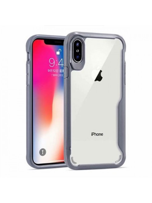 iPhone Xs Clear Case With Shockproof Bumper