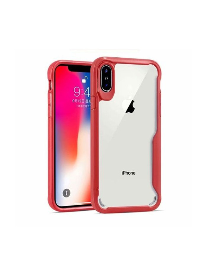 iPhone Xs Max Clear Case With Shockproof Bumper