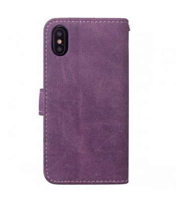 iPhone Xs Rotate Card Slots Folio Case