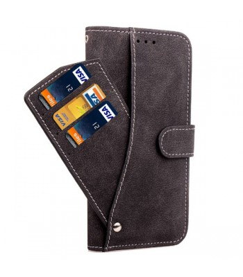 iPhone Xs Rotate Card Slots Folio Case