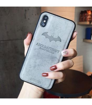 iPhone Xs Cloth Texture Case - Batman