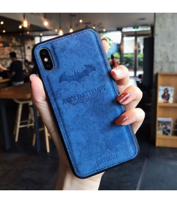iPhone Xs Max Cloth Texture Case - Batman