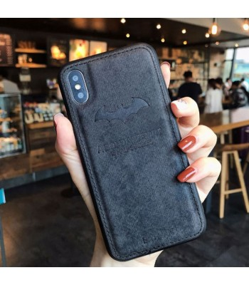 iPhone XR Cloth Texture Case - Batman