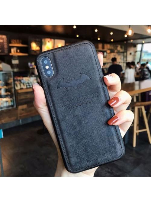 iPhone XR Cloth Texture Case - Batman