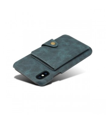 iPhone XR Leather Card Holder Back Case