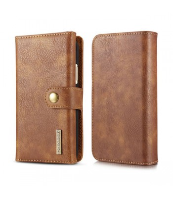 iPhone X Leather Wallet Magnetic Detachable Case