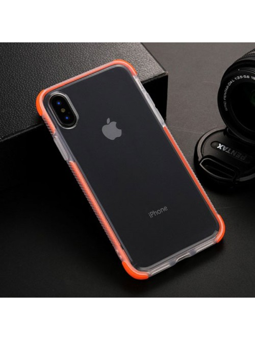 iPhone X Clear Shockproof Protective Case