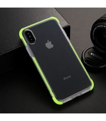 iPhone Xs Clear Shockproof Protective Case