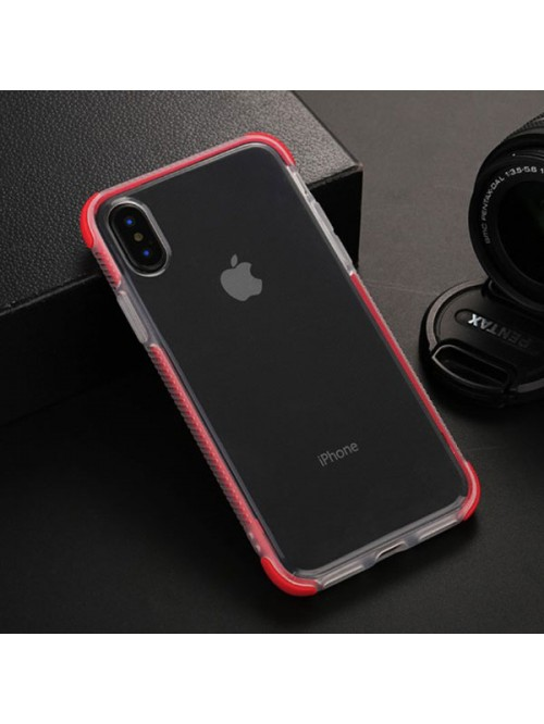 iPhone Xs Max Clear Shockproof Protective Case