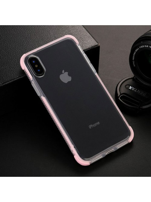 iPhone XR Clear Shockproof Protective Case